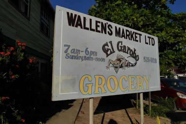 Wallen's Market sign