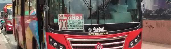 Cuenca: Bus to Baños
