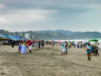 Atacames beach: weekend
