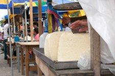 Huge blocks of queso fresco
