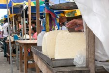 Huge blocks of queso fresco