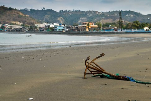 Súa: Village from the beach