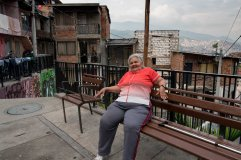 Up in Comuna 13, people just seemed happy.