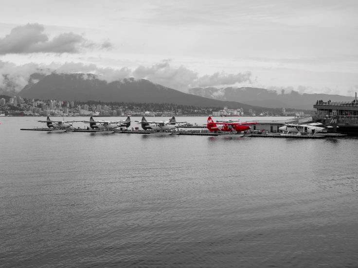 Sea planes, Coal Harbour, Vancouver